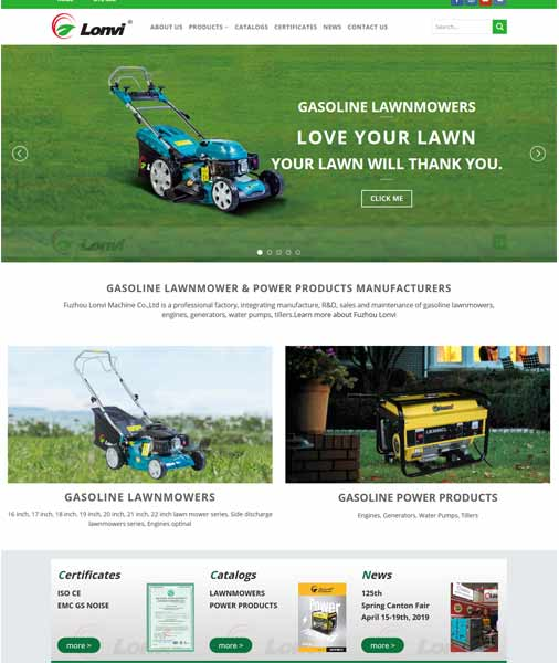 gasoline LAWNMOWER & POWER PRODUCTS MANUFACTURERS